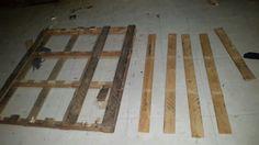 Breaking down wood surfaces