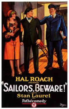 Sailors, Beware!, 1927