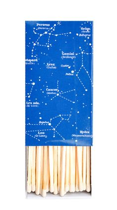 """Constellation"" Matches by LEIF 