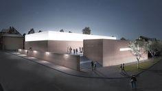 "Paul Bretz Architecte — Dokumentations- uns Ausstellungszentrum ""dc-r"" Ramstein"