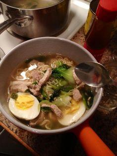 life changing ramen Healthy Food, Yummy Food, Healthy Recipes, Asian Recipes, Ethnic Recipes, Life Changing, No Cook Meals, Better Life, Ramen