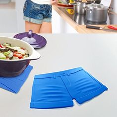 CKB Ltd Hot Pants Shorts Trivet Silicone Worktop Saver Work Surface Protector Mat For Resting Hot Cooking Pots  Pan ** Be sure to check out this awesome product.  This link participates in Amazon Service LLC Associates Program, a program designed to let participant earn advertising fees by advertising and linking to Amazon.com.