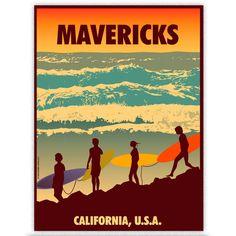 Mavericks Print