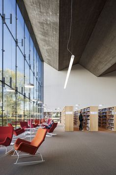 The new extension of the Library in Seinäjoki, Finland  with Pilkington Planar™ system. #architecture #glass