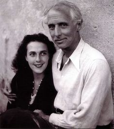 Leonora Carrington and Max Ernst in Saint-Martin-d'Ardèche photo by Lee Miller Max Ernst, Magritte, Lee Miller, Hans Thoma, Dorothea Tanning, Dada Movement, Peggy Guggenheim, Francis Picabia, Saint Martin