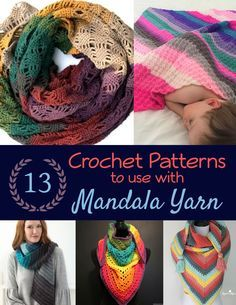There was no easy way to find crochet patterns to Mandala Yarn, so I searched the web, high and low. This is a roundup of 13 Crochet Patterns using Mandala Yarn. Caron Cake Crochet Patterns, Caron Cakes Crochet, Crochet Cowl Free Pattern, Crochet Flower Patterns, Crochet Mandala, Crochet Flowers, Knitting Patterns, Crochet Ideas, One Skein Crochet