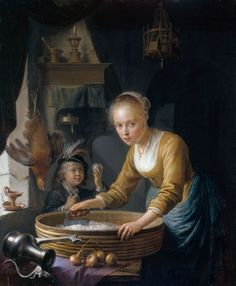 A Girl Chopping Onions | Royal Collection Trust