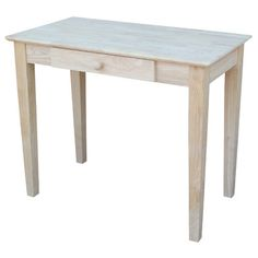 hampton unfinished solid parawood bedside table nightstands apartment bedrooms and bedrooms
