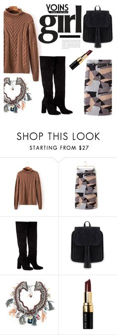 """Yoins Girl"" by deeyanago ❤ liked on Polyvore featuring Anouki, Bobbi Brown Cosmetics and yoins"