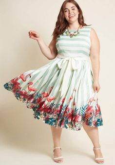 Plus Size Only Modcloth Ixia Solid Navy Blue Sweetheart Dress With Pockets
