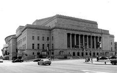 Kiel Opera House, downtown St. Louis.  June 1966 Cleveland High School graduation held at Kiel.