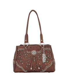 American West Lady Lace Collection Multi-Compartment Organizer Tote 2 Side  Open Pockets A Back Zipper Pocket. Marilyn G · Bag lady f74106ef2bc4d