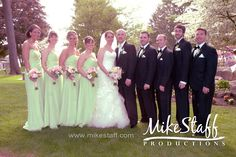 Traditional must have wedding party photo!