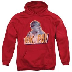 Andy Griffith - Aw Pa Adult Pull-Over Hoodie