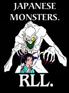 JAPANESE MONSTERS.