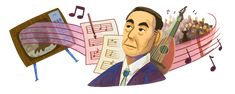 Google Doodles, Akira, The Rite Of Spring, Family Lineage, Film Score, Skull Artwork, Famous Artists, Classical Music, Doodle Art