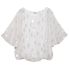 White House Black Market Mothers Day Gift Guide: Lurex Jacquard Blouse #momsays #mothersday #giftguide