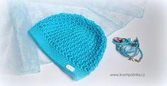 Návody háčkování Krampolinka · Návody a videa na háčkování Free Crochet, Crochet Hats, Tulips, Ravelry, Tweed, Crochet Patterns, Ribbon, Beanie, Big