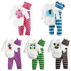 Jarsh New Kids Baby Girls Daddys Little Girl Cartoon Letter Printed Short Sleeve Tops+Pants+Headband Set