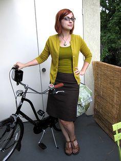 Vélo Vogue: Bike Wardrobe Remix: Biketober