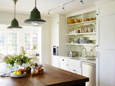 Enameled Hanging Lamps http://www.diynetwork.com/kitchen/kitchen-chandeliers-pendants-and-under-cabinet-lighting/pictures/index.html?soc=pinterest#