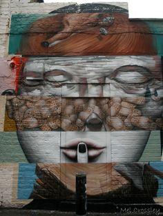 LOVE this!  Brick Lane Art London