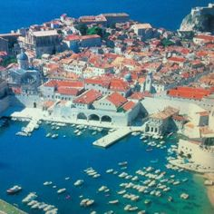 Dubrovnik Croatia; I miss walking the streets of the old city..