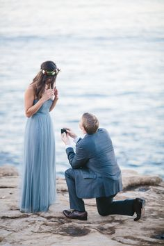 Beach proposals like this are the best part of summer.