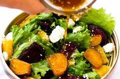 Roasted Beet Salad with Orange Citrus Vinaigrette and Goat Recipe on Food52 recipe on Food52