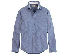 Men's Rattle River Slim Fit Chambray Shirt