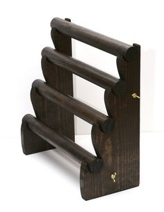In Stock 4 Tier Wooden Jewelry Bracelet Display for by USAVECO
