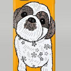 これはiPhoneケースです #シーズー犬Shih Tzu西施犬の子供を描きました http://ift.tt/1JRZ43R  #suzurijp #suzuriで販売中
