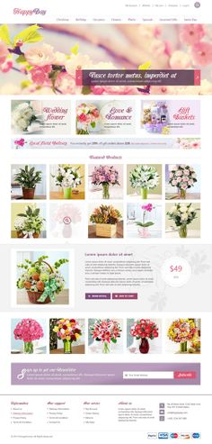 OT Happyday is innovative Responsive Joomla template & Virtuemart template design that can be a perfect choice for establishing a modern online Flower Shop, Gift Store, a Handmade boutique or any kind of business(corporate, agency, portfolio and blog websites) or eCommerce website.