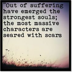 Infertility is definately a massive scar that will hopely result in stronger me!