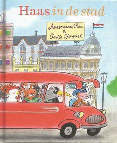 Een dik boek vol stadse avonturen van Haas en zijn vrienden.
