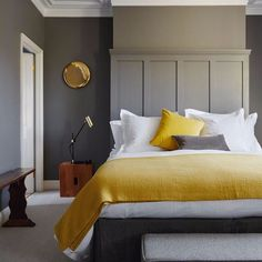 Mellow Yellow. Brighten your space with yellow accents. Completely changes the look at a low cost. #yellow #homeinspo #homedecor #dreamhome by networkcapital