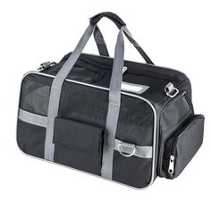 Fypo Pet Cat Puppy Expandable Carrier Crate , Soft Sided Tote Travel Kennel With Removable Fleece Portable Handbag Shoulder Bag Spacious Folding Zipper Lock Case for Airline Cabin x x - I Heart My Cats Son Chat, Cat Training Pads, Cat Id Tags, Cat Shedding, Cat Fleas, Cat Memorial, Cat Grooming, Travel Tote, Cat Shirts