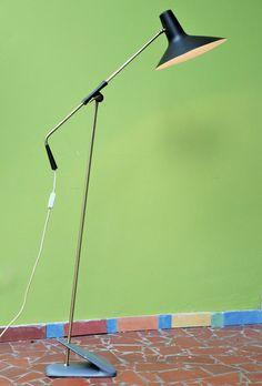 50er 60er Stehlampe floor lamp Stilnovo Arteluce ära metall Brass | eBay