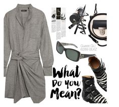 """What do you mean?"" by smartbuyglasses-uk ❤ liked on Polyvore featuring Isabel Marant, Alisa Smirnova and GUESS"