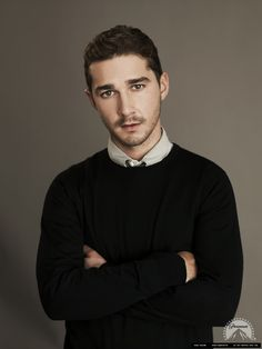 Shia Labeouf -  he is the weirdest of weird and I love him for it