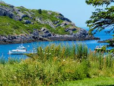 When I am in Maine, I live on an island. Without a boat. I don't even know how to 'boat', which is one of those words that I absolutely love because it can be a noun and a verb… Monhegan Island, Islands, Maine, Boat, River, Mountains, Outdoor, Outdoors, Dinghy