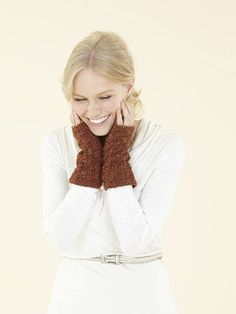f89dc9279 Hand warmers for knitters  get the pattern at Laughing Hens Winter  Accessories