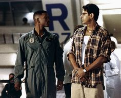 independence day Will Smith and Jeff Goldblum.  #josephporrodesigns