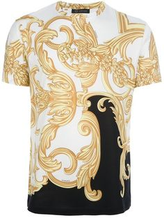 Omg. one day... this Baroque Print Tshirt - Lyst
