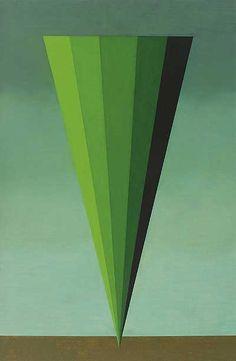 Aizenberg    Roberto Aizenberg. Pintura. 1974. Óleo sobre tela. 87 x 56 cm