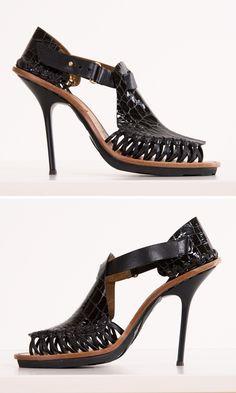 ❤ SHOES black heel