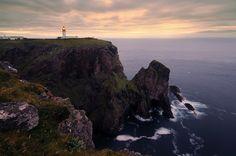 At Scotland's Edge - Cape Wrath lighthouse, Sutherland, Scotland