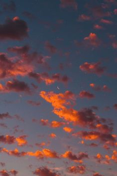 Crescent moon in the night Crescent moon in the nightYou can find Fondos de pantalla iphone and more on our website.Crescent moon in the night Crescent moon in the night Wallpaper Pastel, Cloud Wallpaper, Iphone Background Wallpaper, Aesthetic Pastel Wallpaper, Aesthetic Backgrounds, Aesthetic Wallpapers, Screen Wallpaper, Sunset Wallpaper, Orange Wallpaper