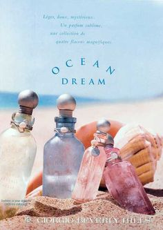 Ocean Dream by Giorgio  (orange blossom, sandalwood, musk, water lily, water heliotrope, vanilla, sea notes, cedar, vetiver) *smpl