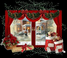 Christmas   ~ A collection of CLICK ON THE PICTURE (gif) AN WATCH IT COME TO…